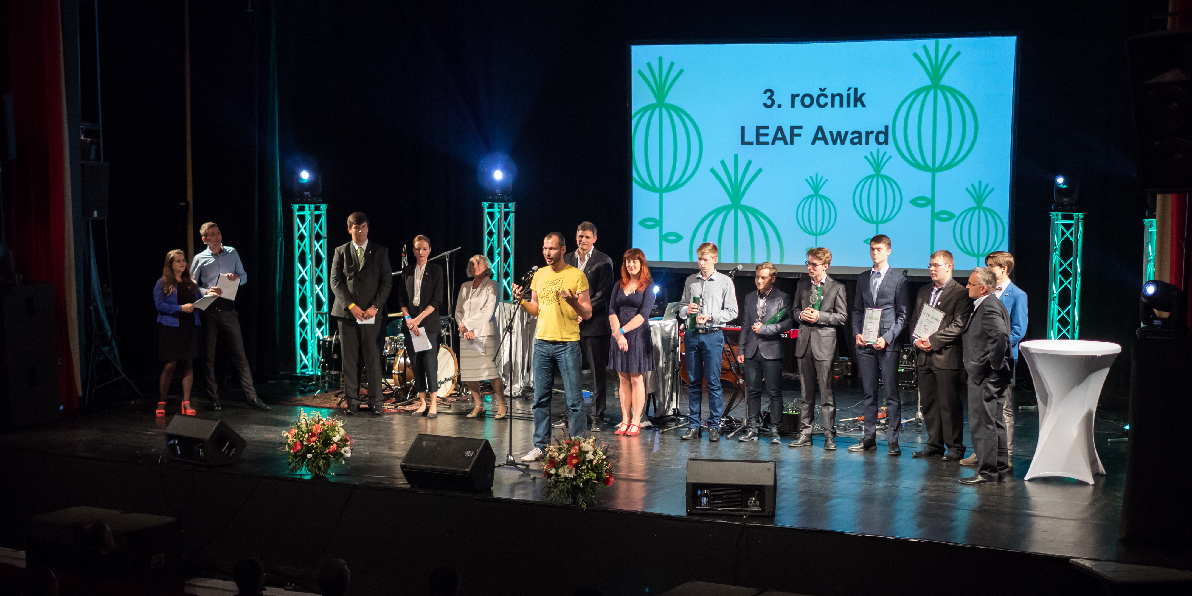 LEAF Award je program podpory a rozvoja
