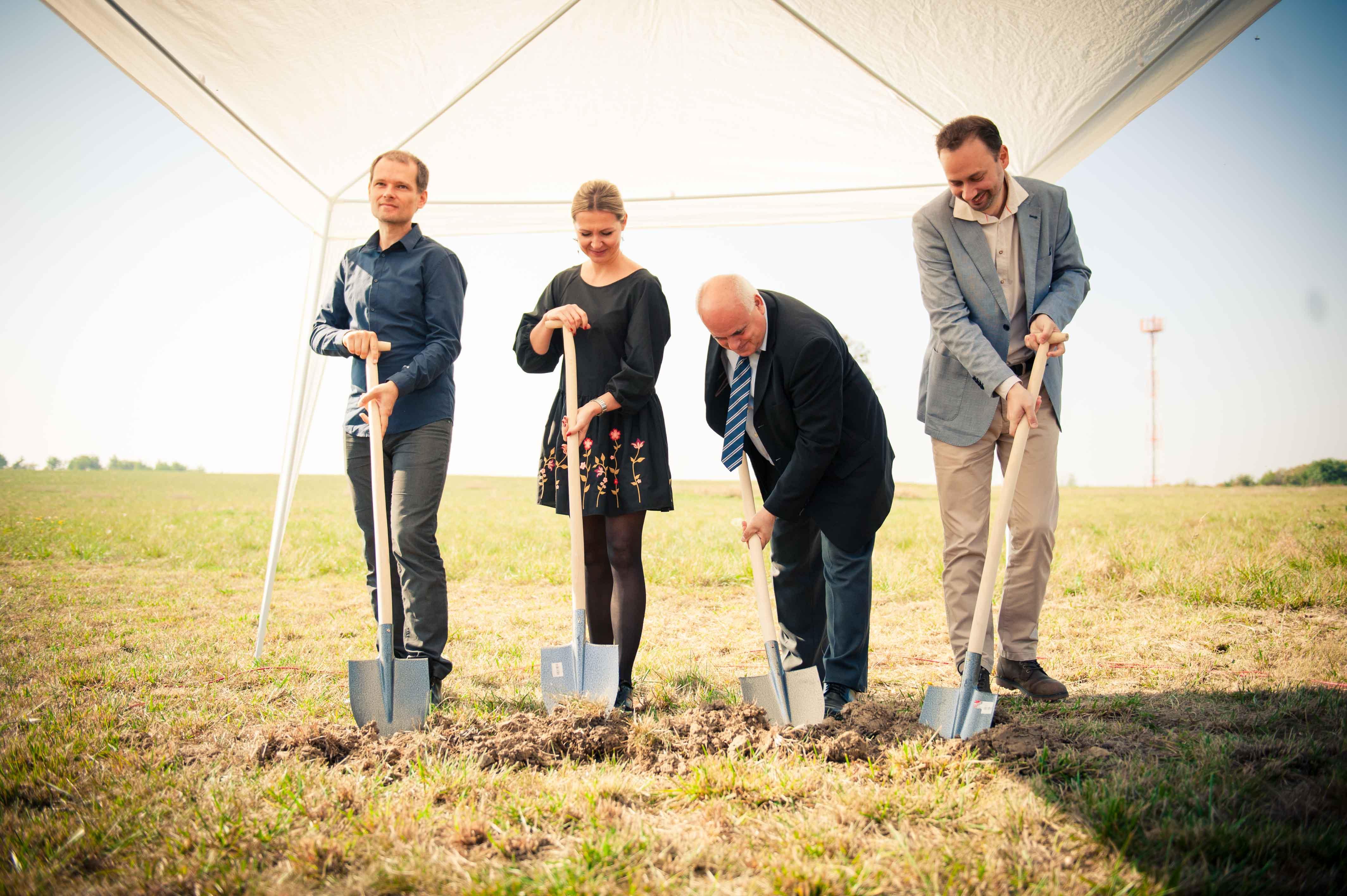 Stredoškolský kampus budúcnosti začal vyrastať v obci Vištuk