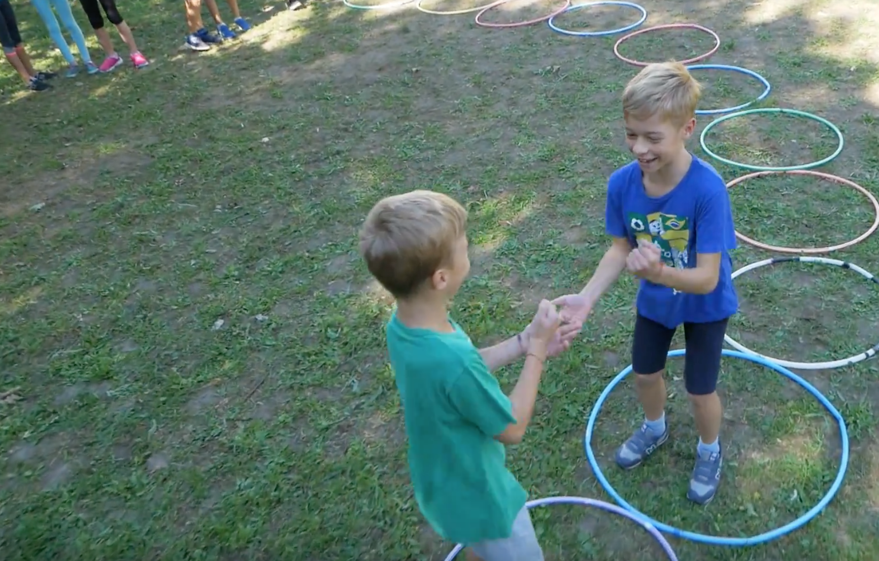 Video: Energizér – Pohybová hra Kameň Papier Nožnice