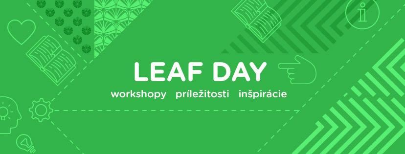 LEAF Day – mysleli sme aj na učiteľov