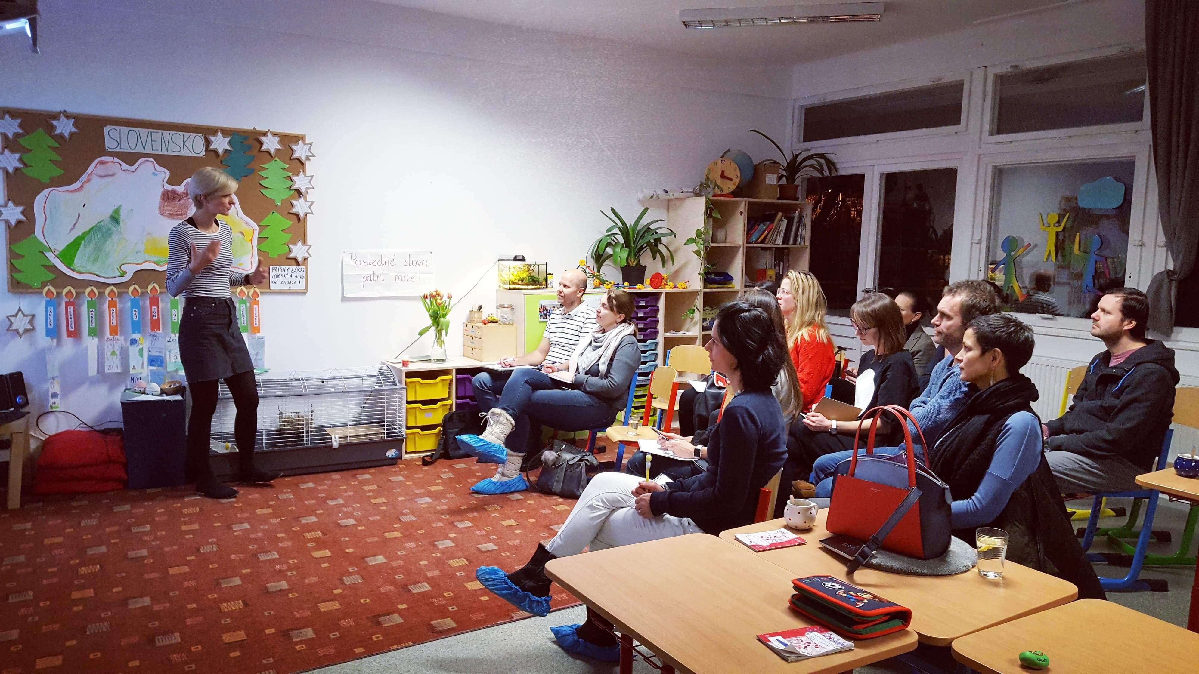 Workshop Felix pre rodičov 24.1.2019 2