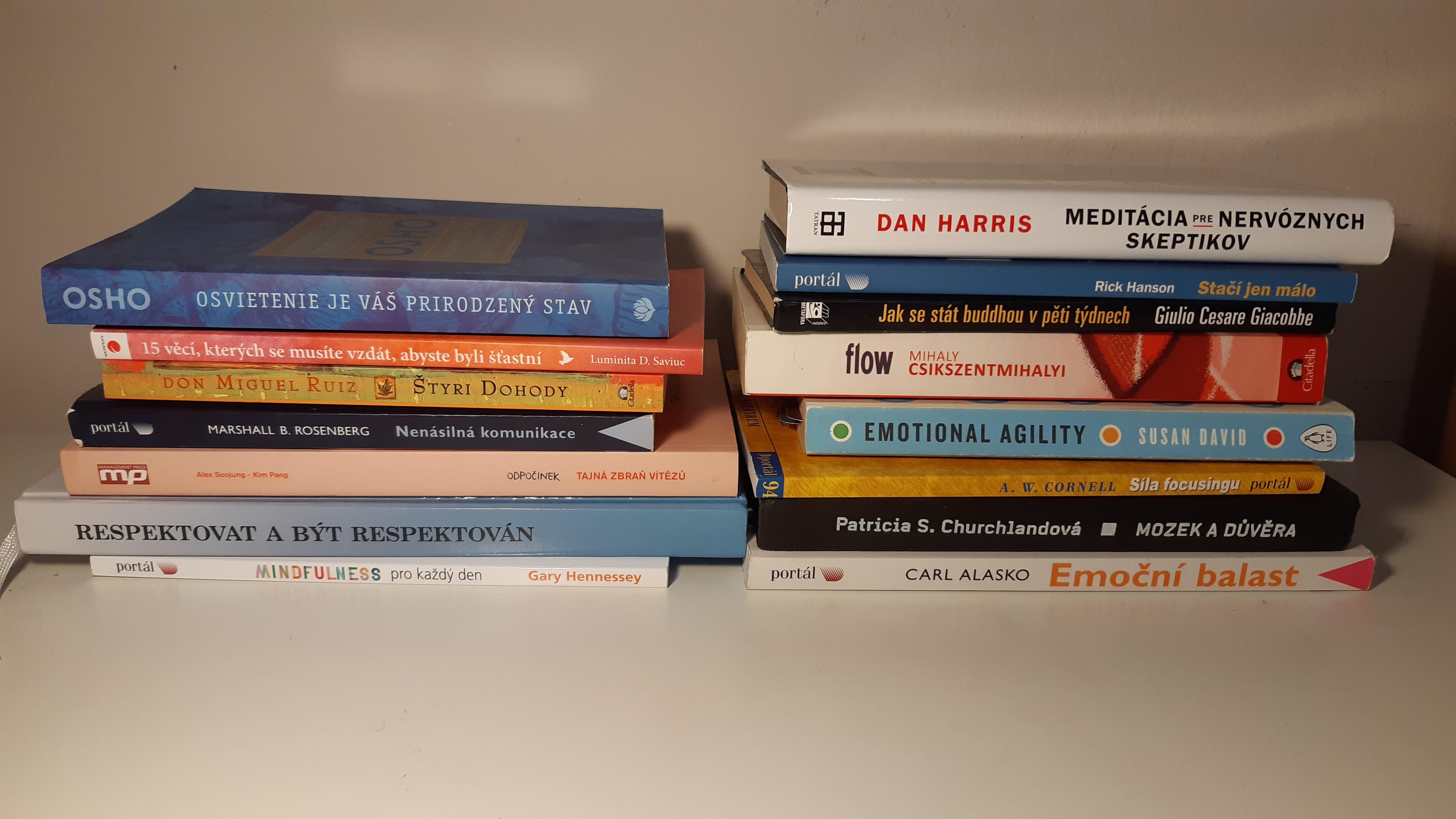 Knihy, ktoré sú mojim majákom, keď sa stratím vo svojich myšlienkach, pocitoch a emóciách