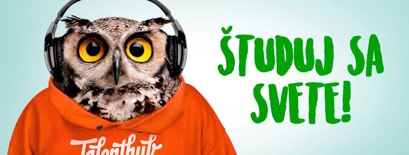 Študuj sa svete alebo ako rozvíjať svoj talent…z gauča a s vyloženými nohami