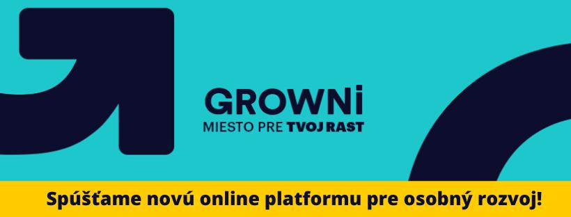 Spúšťame novú online platformu pre osobný rozvoj!